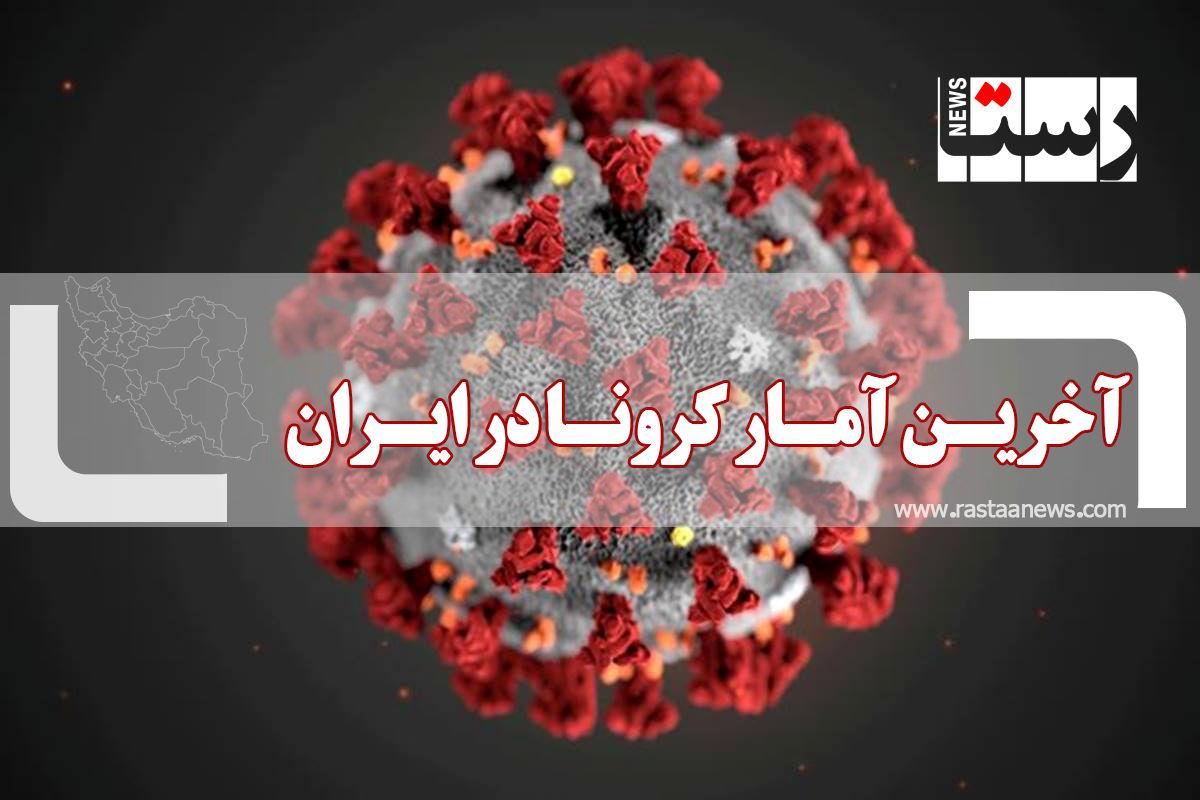 آخرین آمار کرونا در ایران (دوشنبه ۱۸ مرداد)
