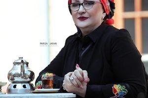 عکس شب یلدایی مریم امیرجلالی
