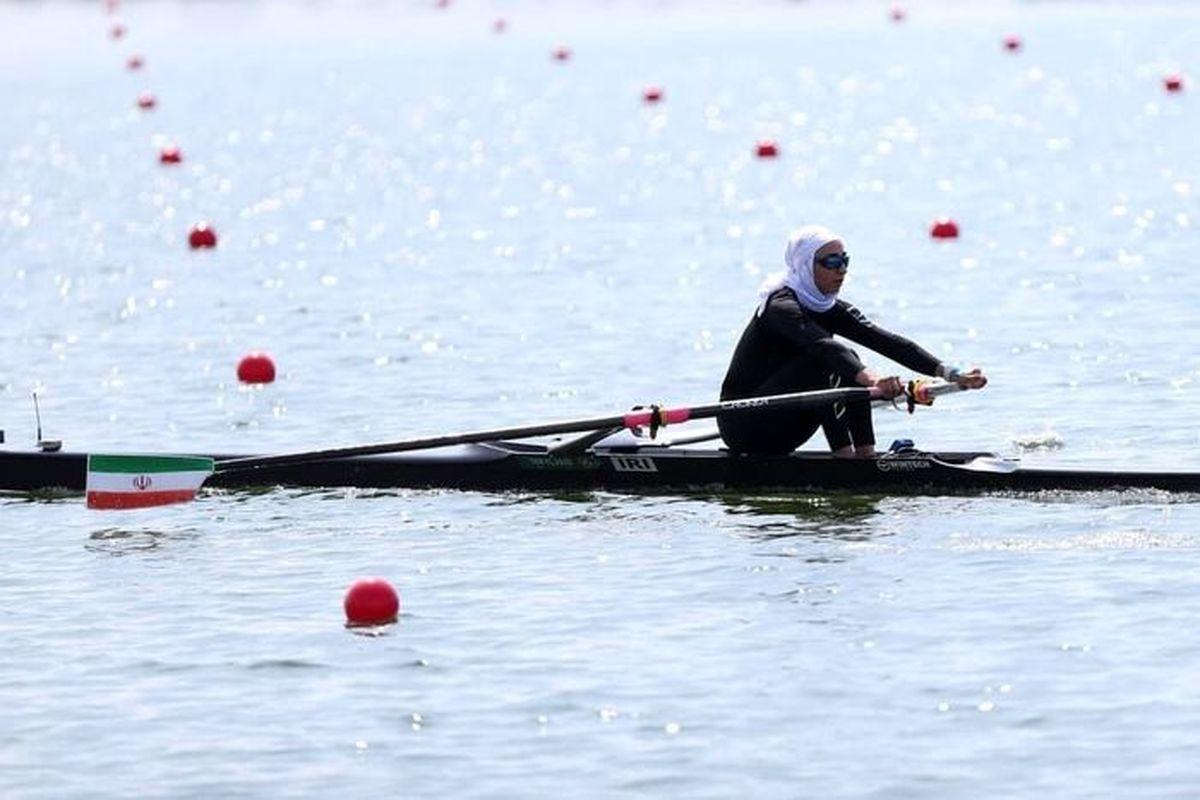 نازنین ملائی به نیمه نهایی المپیک صعود کرد