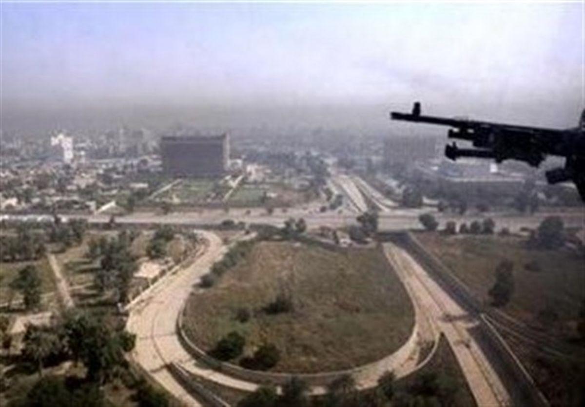 حمله پهپادی به سفارت آمریکا در بغداد