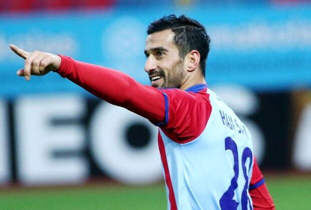 جو منفی یونانیها علیه کاپیتان تیم ملی ایران