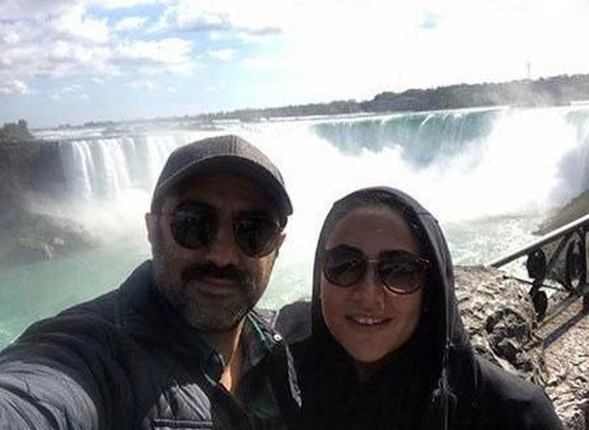 عکس دیده نشده نقی پایتخت و همسرش در کانادا